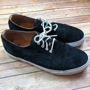 VANS Mens Dillon CA Black Suede Lace Up Skate Shoe